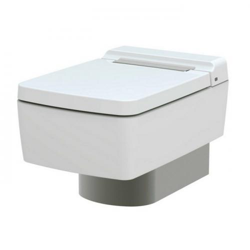 SG Унитаз подвесной с вертикальным сливом, для комплектации с металлической панелью,керамика,размер 39х58.2х33.9Н, цвет белый