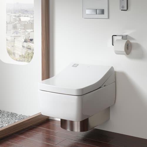 WASHLET SG Сиденье-биде с дистанционным управлением, размер 39x57.5x13.2Н, скрытое подкл. цвет белый