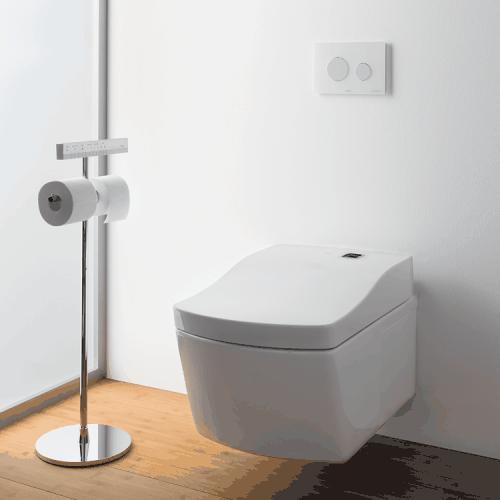 Сиденье для унитаза с функцией биде, ToTo, Neorest Series, с крышкой, ширина, мм-423, длина, мм-675, высота, мм-119, с дистанционным управлением, оснащение-омывание теплой водой, обогреваемое сиденье, дезоратор, сушка, Ewater+, автоматические функции, Pri