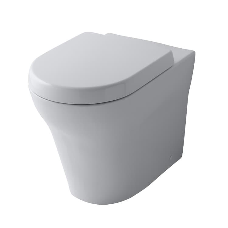 TOTO MH Унитаз приставной, 390x624x410мм, безободковый, без сиденья(подходит: VC10047NN, VC10162), Tornado Flush, CeFiONtect, цвет: белый