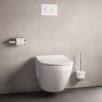 NC Унитаз подвесной выпуск в стену, размер 53x38x34Н, цвет белый